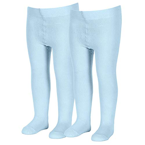 Sterntaler Doppelpack Strumpfhose für Babys, Alter: 0-2 Monate, Größe: 56, Blau