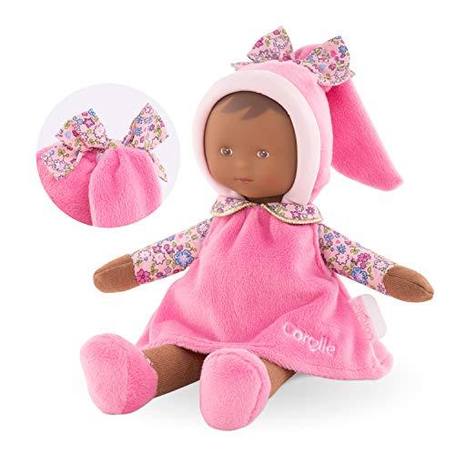Corolle- Miss Florale Pays des rêves Doudou poupée, 010060, Rose