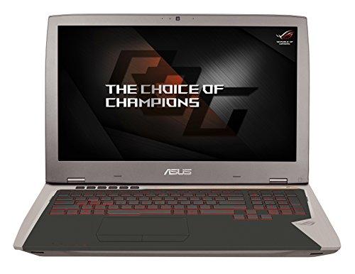 Preisvergleich Produktbild Asus ROG G701VI-BA033T 43, 9 cm (17, 3 Zoll mattes Full-HD Display) Gaming Laptop (Intel Core i7-6700HQ,  16GB Arbeitsspeicher,  512GB SSD,  Nvidia GTX1080,  Win 10) grau