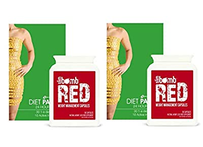 Strong Diet & Slimming Pills by Slim Bomb + FREE Weight Loss Patches worth £49.90 by Slimming Solutions