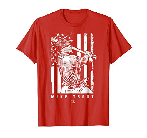 Mike Trout Show Your Pride T-Shirt - Apparel