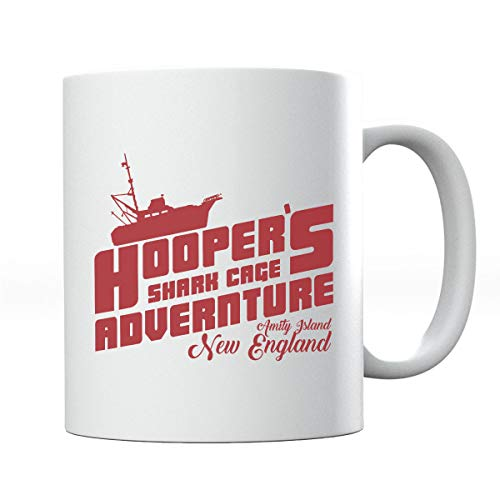 Jaws Hoopers - Taza de aventura con jaula de tiburón
