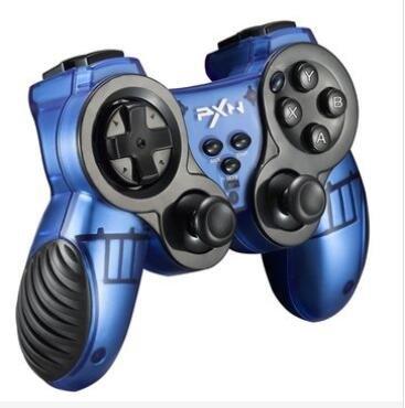 GOZAR PXN-2902 Zwaard 2.4G Draadloze Zero Delay Turbo Dual Vibratie Joystick Gamepad voor PS3 PC