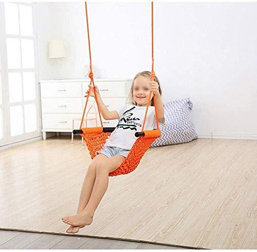 Asiento de Columpio Infantil for Juegos de Interior al Aire Libre jardín Hogar y Kit de instalación, Color: marrón Roble (Color : Oak Brown)