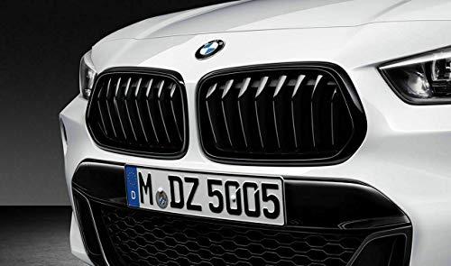 Original BMW X2 M PERFORMANCE Ziergitter F39 Nieren schwarz