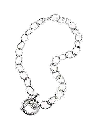 Just Cavalli SCRW03 - Secret - Collar de Mujer de Acero Inoxidable