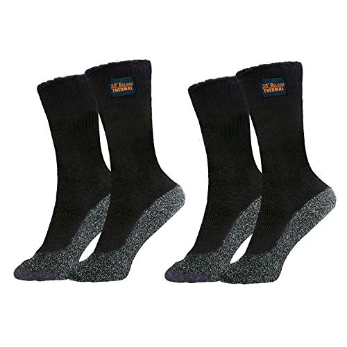 35 Below Thermal 2 pairs – Thicker Insulated Socks, As Seen On TV -...