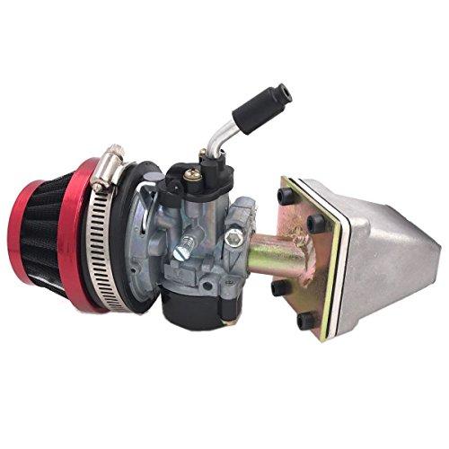 CDHPOWER G2 Racing Reed Valve Kit and Racing Carburetor Assembly- Bicycle Motors - Bicycle Engine Kits
