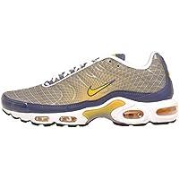 Nike Mens - Tuned 1 Air MAX Plus OG TN - Steel Spun Yellow White Black - UK 8