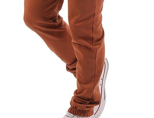 Gennadi Hoppe Herren Jumpsuit Onesie Jogger Einteiler Overall Jogging Anzug Trainingsanzug Slim Fit,Camel,XXX-Large - 6