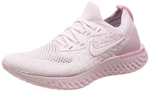 Nike Women WMNS Epic React Flyknit Pearl Pink-Barely Rose Running Shoes-4 UK (37.5 EU) (6.5 US)...