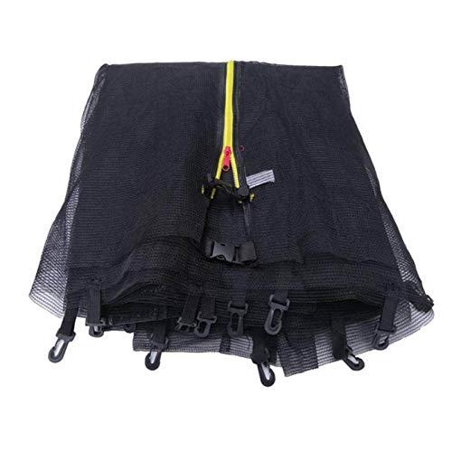 Sicherheitsnetz Trampolin UV-beständig Trampolinnetz Trampolinschutz Sicherheitsnetz Sicherheitspolster für Trampolin, Ersatznetz, Schutznetz für Gartentrampolin (M)