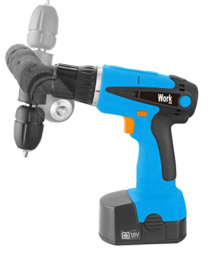 Workmen wmprt18 – 360bm taladro atornillador 360 °, azul