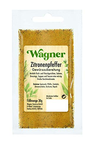 Wagner Gewürze Zitronenpfeffer Gewürzzubereitung, 30 g