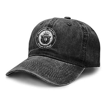 Alin-Z Bear Unisex Adjustable Baseball Caps Denim Hats Cowboy Hats
