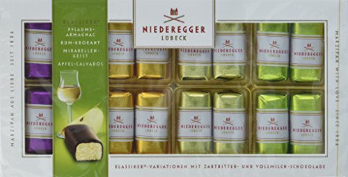 Niederegger Marzipan Klassiker Variationen alkoholisch, 1er Pack (1 x 200 g)