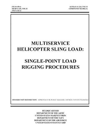 FM 10-450-4 MULTISERVICE HELICOPTER SLING LOAD: SINGLE-POINT LOAD RIGGING PROCEDURES (English Edition)