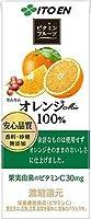 伊藤園 ビタミンフルーツ オレンジmix 100% 紙パック 200ml×72本