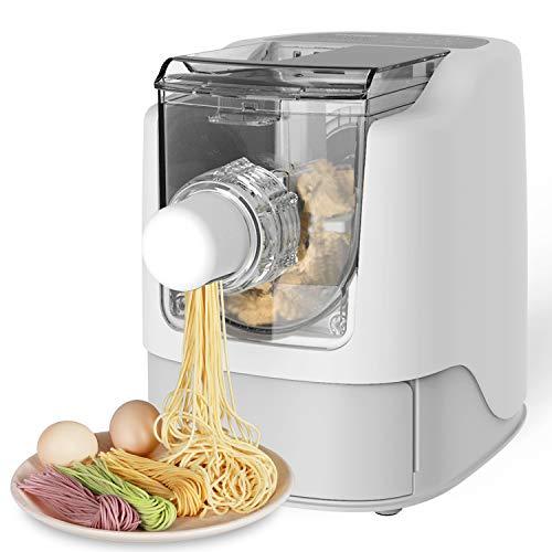 Razorri Vollautomatische Nudelmaschine Elektrische Pasta Maker - Machen Sie 450g hausgemachte Nudeln in 10 Minuten - 13 Nudelformen - Spaghetti, Fettuccine, Penne, Makkaroni und Knodel Wrapper