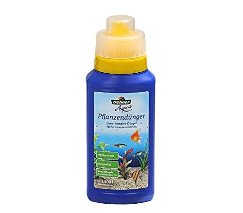 Dehner Aqua Aquarium-Pflanzendünger, 250 ml, für ca. 1.500 l