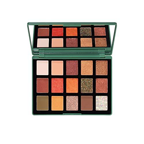Eaylis 15colores maquillaje paleta de sombra ojos brillo mate pigmentado alta durabilidad rosa pallete cosméticos sombras profesionales (verde)