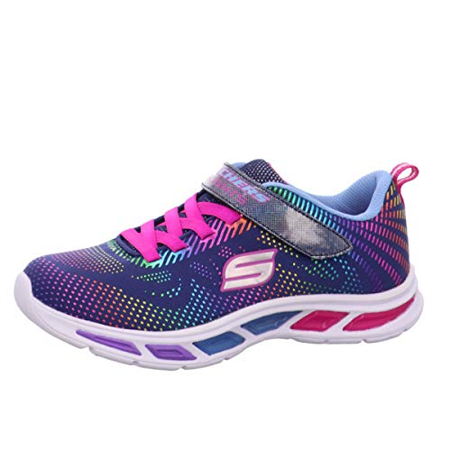 Skechers Litebeams-Gleam N'dream, Zapatillas para Niñas, Az