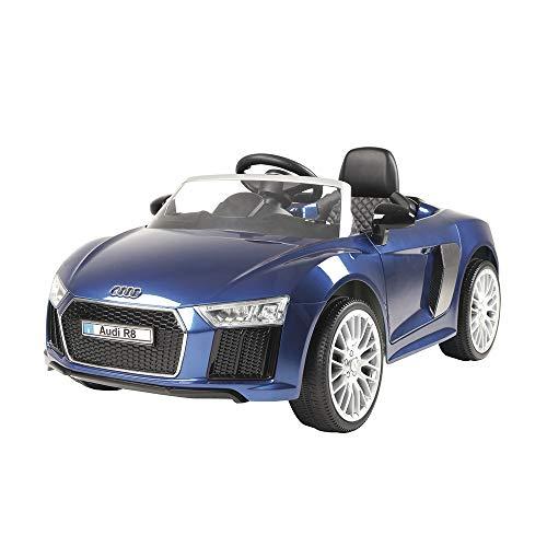 Carrinho 6 Voltz Audi R8 Xalingo Azul