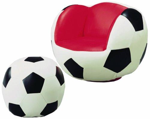 Crown Mark Soccer Chair/Ottoman