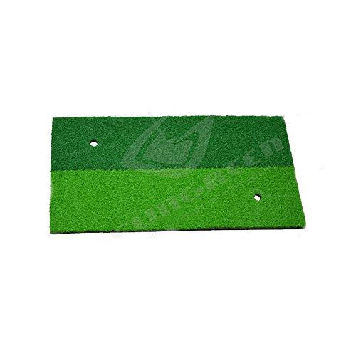 DNTK Colchoneta de práctica de Golf, colchoneta de Golf de 12'X24, Materiales de Entrenamiento para Exteriores/Interiores colchoneta de práctica de Golf colchoneta de Nylon 2 en 1