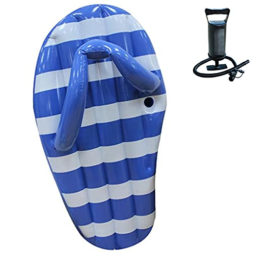PSHH Aufblasbare Wasser Hängematte,Aufblasbares Schwimmbett mit Flip-Flop,Wasser Hängematte mit Cup Loch für Erwachsene im Sommer im Freien Schwimmen (Set : 2, Size : 150 * 70cm)
