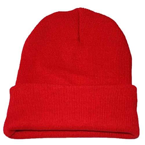 Zamoufm Hombres Mujeres Baggy Warm Crochet Winter Knit Ski Slouchy Caps Sombrero capó -C_United_StatesSombrero cálido Unisex