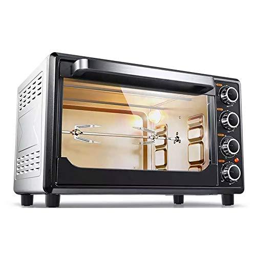 Horno electrico de sobremesa Mini horno Horno de hogar Multifuncional 32L Capacidad...