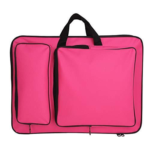 IPENNY A3 Zeichentasche mit Schultergurt Kinder wasserdichte Transporttasche für Zeichenbrett Zeichnungsmappe Tragbare Künstlermappe Multifunktionale Kunstmappe für Malerei