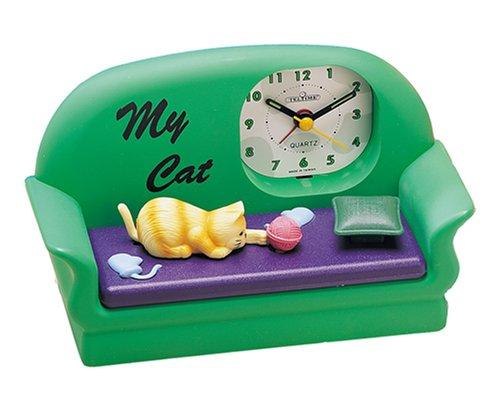 Cat Sound Motion Novelty Alarm Clock