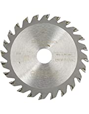 Aramox Cirkelsåg, 24 Tänder Hårdmetall Cirkelsåg Träbearbetningsverktyg Skärskiva 85 Mm X 15 Mm