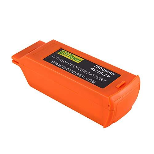 Alta capacidad compacta 11.1V 7500mAh LiPo Batería Batería de lipolímero recargable para Blade Chroma Drone RC FPV Drone (Naranja) ESjasnyfall