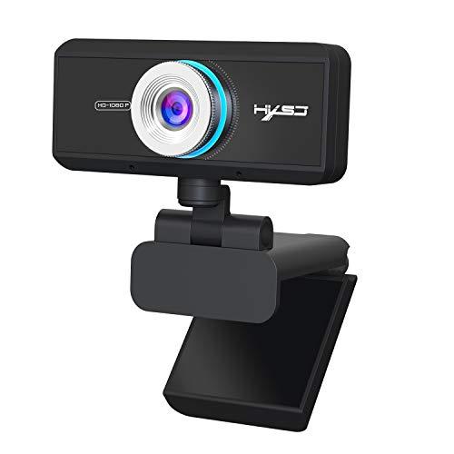 Cámara web USB S4 1080P Full HD con micrófono de red suspendida, enfoque automático, llamada, gran angular, cámara de computadora para PC portátil