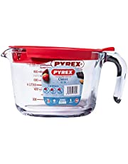 Pyrex 264P000 Maatbeker, Borosilicaatglas, Transparant, 1 Liter