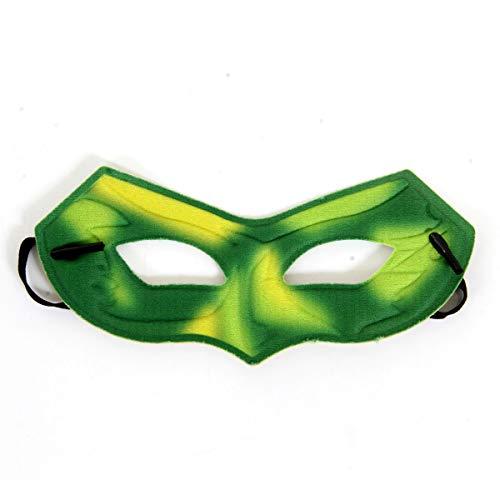 Mascara Lanterna Sulamericana Fantasias Verde Único