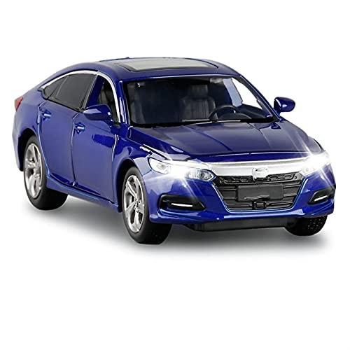 Modello Auto 1:32 Niño Juguete Cumpleaños Cumpleaños Decoración Aleación Modelo Modelo Modelo Modelo Sonido Y Coche Ligero Juguete para Niños (Color : 2)