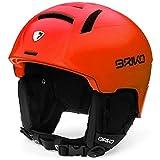 Briko Canyon Casco de Esquí, Unisex Adulto, Matt Orange, 59-64