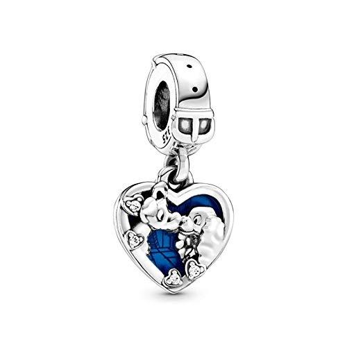 Pandora 925 plata esterlina colgante diy señorita y sin hogar encanto ajuste pulsera original haciendo joyería de moda para mujer cm