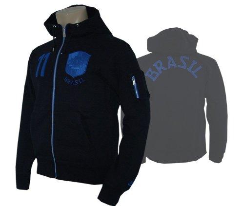 Nike Brasil TC AW77 Full Zip Hooded Jacket Brazilië jas met capuchon
