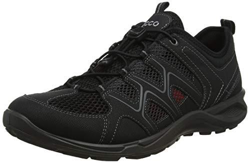 Ecco Herren TERRACRUISELTM Sneaker, Schwarz (Black/Black 51052), 43 EU