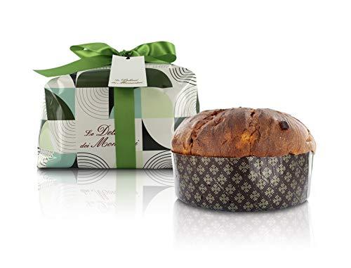 Ferrari & Arrighetti In Mailand gebackener klassischer Panettone, traditionelles Rezept der Italienischer Weihnachtsfruchtkuchen (1 kg)