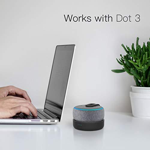 GGMM D3 Battery Base for Dot3 to Make Dot3 Portable, Black (Not Include The Speaker   )