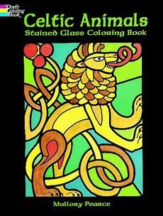 [Celtic Animals Stained Glass Colouring Book] (By: Mallory Pearce) [published: February, 2000]