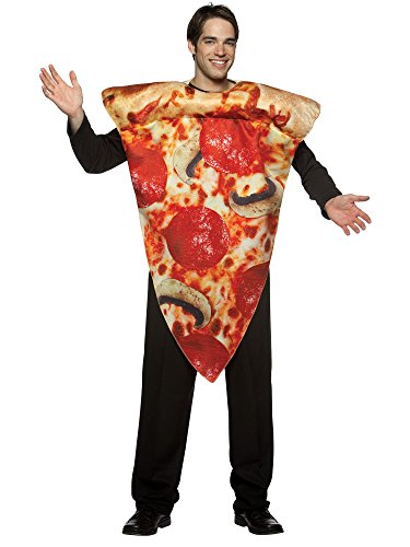 Pizza Slice Costume - One Size - Chest Size 48-52 - http://coolthings.us