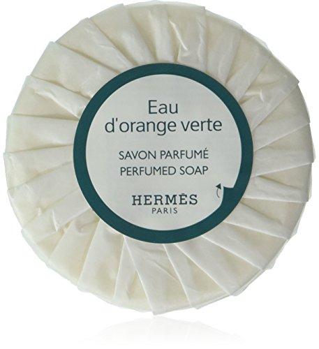 Hermes eau d'Orange Verte Pleated 50 gram soaps - Set of 6 by Hermes