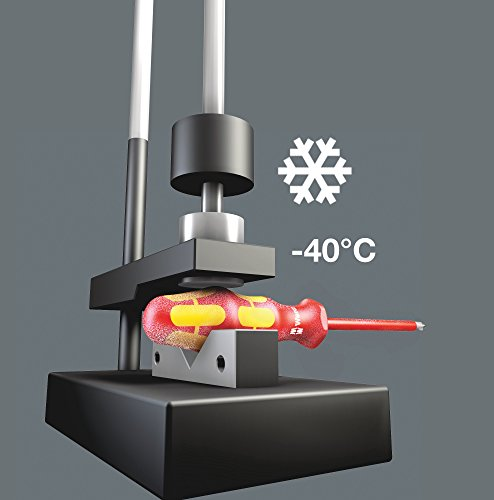 Wera Kraftform Plus 160i/6 Insulated Professional Screwdriver Set, 6-Piece